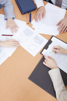 Hand of conference materials and OL Stock photo [2322530] 20