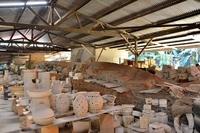 コタキナバルの陶器工場