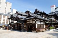 Ehime Prefecture Dogo Onsen main building Stock photo [2324631] Dogo