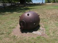 ポートダグラスのアンザック公園の機雷