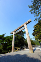 Ise Shrine Uji Bridge torii of Stock photo [2451430] Grand