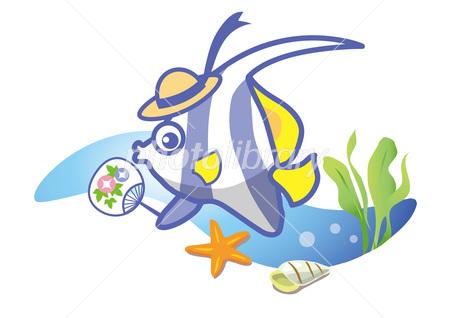 熱帯魚で涼しく