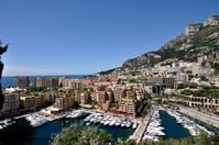 View from Monaco Prince's Palace Square Stock photo [2560140] Monaco