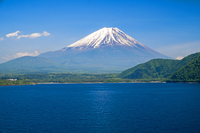 Motosuko and Mount Fuji Stock photo [2562651] Mt.