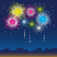 Fireworks illustrations [2567856] Fireworks