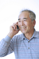 Men who use mobile phones Stock photo [2571160] Smile