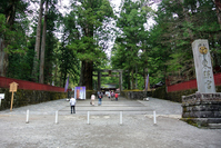 Of World Heritage Nikko shrines and temples stock photo