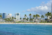 Waikiki Beach Hawaii Stock photo [2575861] Hawaii