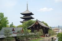Toji five-story pagoda Stock photo [2576017] Kyoto