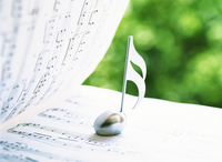 Music and notes Stock photo [2577558] Music