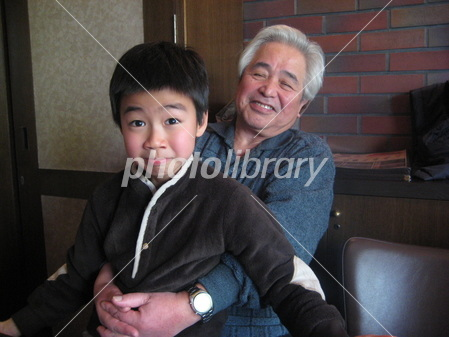 Together with grandson Photo