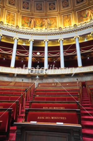 フランスの国民議会議事堂 本会議場 写真素材 [ 2677725 ] - フォト ...