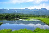 Hokkaido Shiretoko Five Lakes stock photo