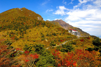 Unzen Nitta Pass autumn leaves Stock photo [2671986] Unzen
