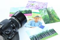 Camera and lots of photos and SD card Stock photo [2673380] Camera