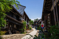Nakasendo Magome-juku Stock photo [2677915] Magome-juku