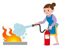消火訓練 イラスト素材 [ 2678937 ] - フォトライブラリー photolibrary
