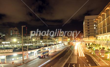 カフーナ旭橋の夜景