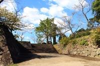 Nobeoka Castle of Ishigaki Stock photo [2750687] Nobeoka-jo