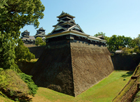Kumamoto Castle Stock photo [2752554] Moat