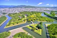 Goryokaku park Stock photo [2754313] Hokkaido