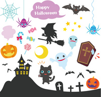 Various material of Halloween [2756781] Halloween
