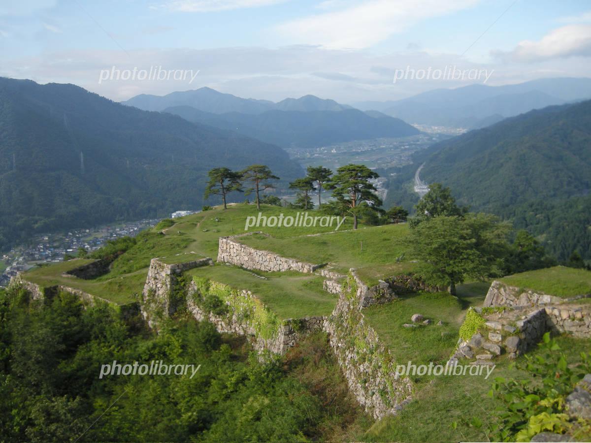 Summer of Takeda Castle Photo