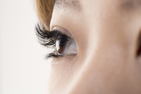 Of extension eyelashes eyes Stock photo [2848903] MU