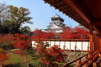 Kokura Castle from Kokura Castle garden Stock photo [2850032] Kokura
