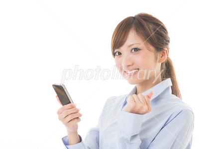 Business Woman smartphone Photo