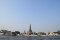 Chao Phraya River and Wat Arun Stock photo [2920955] Wat