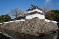Funai Castle southwest corner double turret Stock photo [2921267] Oita