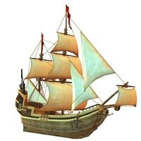 Pirate ship [2923195] Sailboat