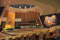 New York United Nations Headquarters General Assembly Hall Stock photo [2924847] New