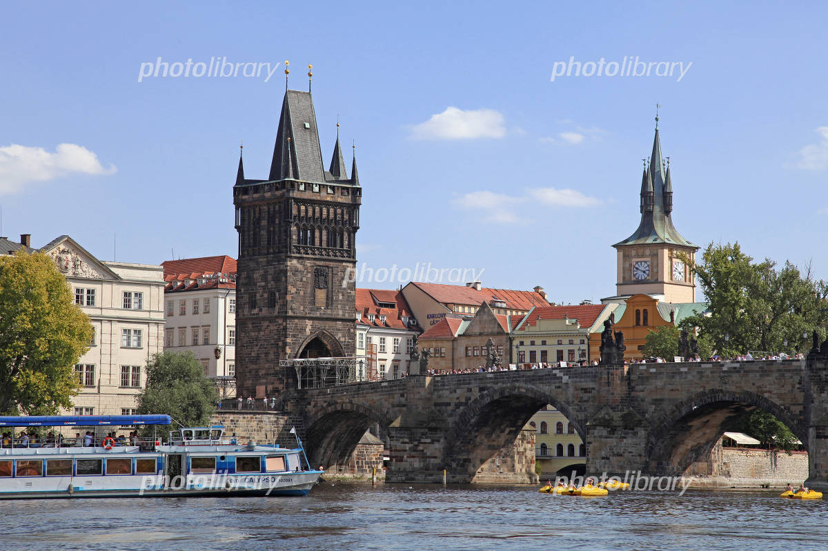 Charles Bridge of Prague Photo