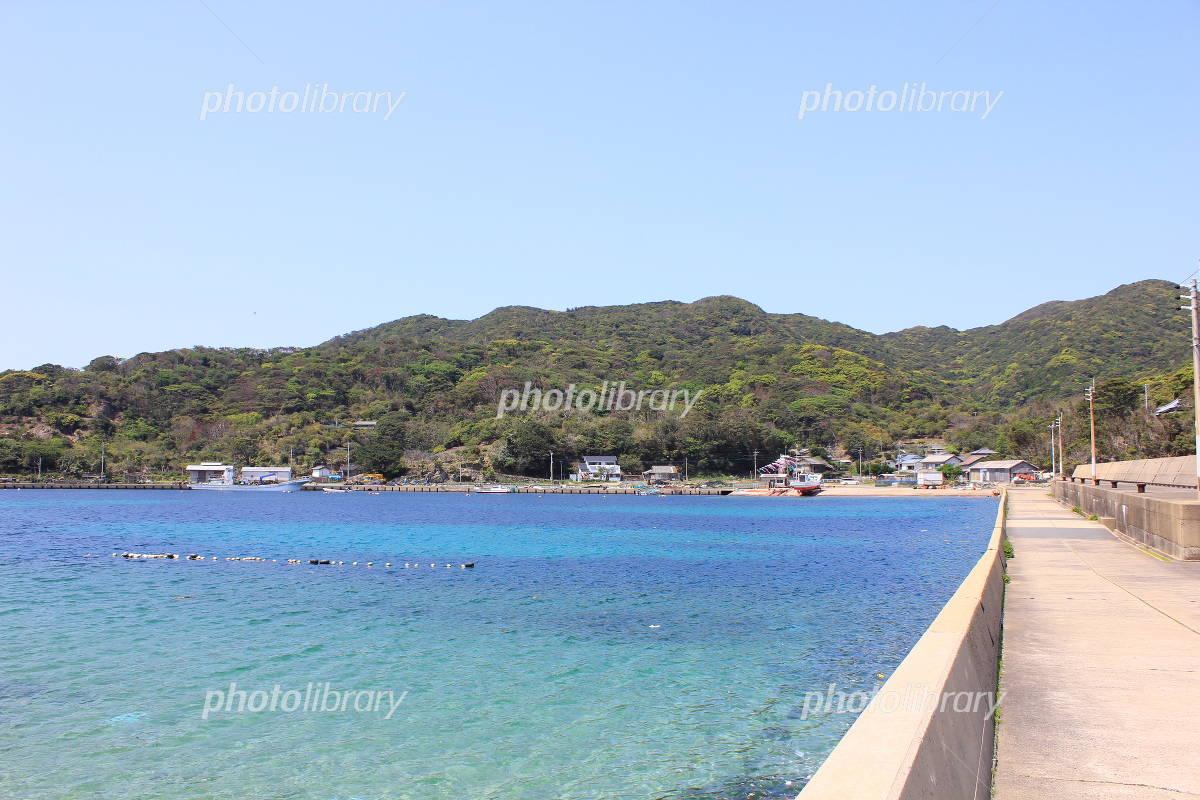 上五島の有福島 写真素材 [ 3008...