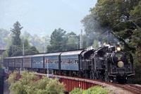 Oigawatetsudo steam locomotive tandem Stock photo [3004670] Oigawatetsudo