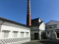 Saijo Sake Brewery Street brewery and chimney Stock photo [3008101] Brewery