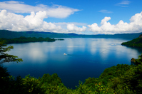Towada panoramic view Stock photo [3009709] Lake