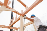 Housing construction Stock photo [3010890] Person