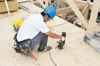 Floor construction Stock photo [3011101] Person
