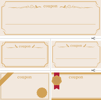 Simple coupon material [3087847] Coupon