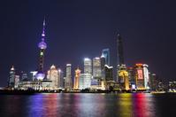 Shanghai night view Stock photo [3091312] Shanghai