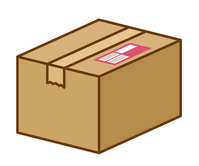 Courier luggage [3095913] Cardboard