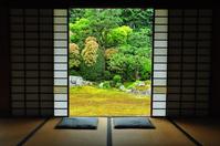 芬陀 Institute of garden Stock photo [3097926] Kyoto