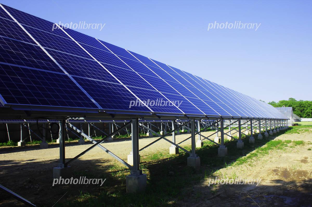 Mega solar facility Photo