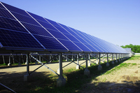 Mega solar facility Stock photo [3184672] Mega