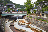 Arima Onsen Taiko Bridge Stock photo [3187285] Local
