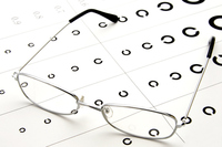 Glasses and vision inspection Stock photo [3192142] Glasses