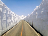Otani Tateyama Kurobe Alpine Route snow Stock photo [3192292] Snow